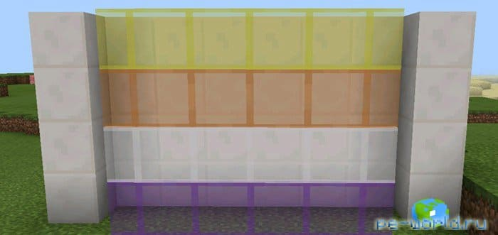 ТЕКСТУРЫ Cleaner Stained Glass Pack (1.2 Beta Only) | MINECRAFT POCKET EDITION 1.2