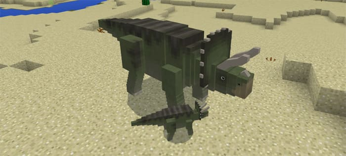 МОД JURASSIC CRAFT [MCPE 1.2] | MINECRAFT POCKET EDITION 1.2.2
