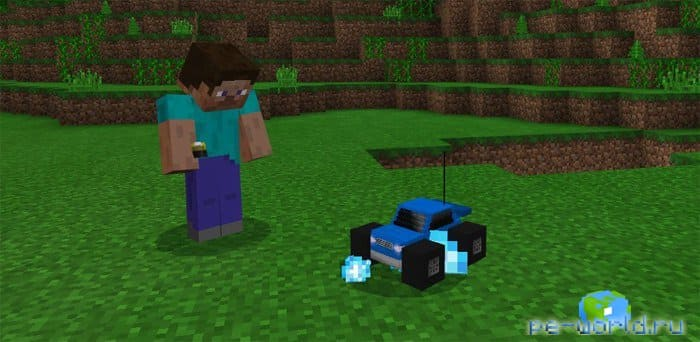 МОД RC Car Addon | MINECRAFT POCKET EDITION 1.2